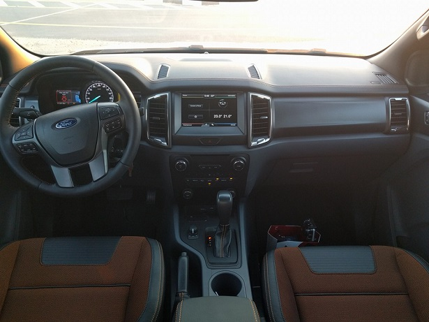 The Interior Is Where Ranger Shines With Its Wildtrak Variant Seats Are Comfortable And There A Generous Dose Of Leather All Around That Gives