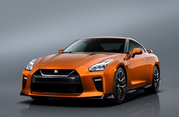 Nissan Took The Wraps Off Its Latest 2017 Gt R At New York International Auto Show Orange Sports Car Is Deemed To Be Filled With Changes That