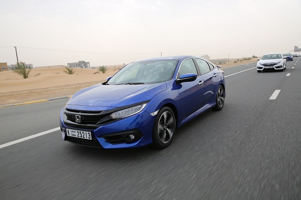 Honda Motor Company Held An Exclusive Event For The Launch Of All New 2016 Civic Was Attended By Middle East Management And