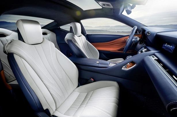 Lexus Lc 2018 Interior Unveiled Qatar Yallamotor