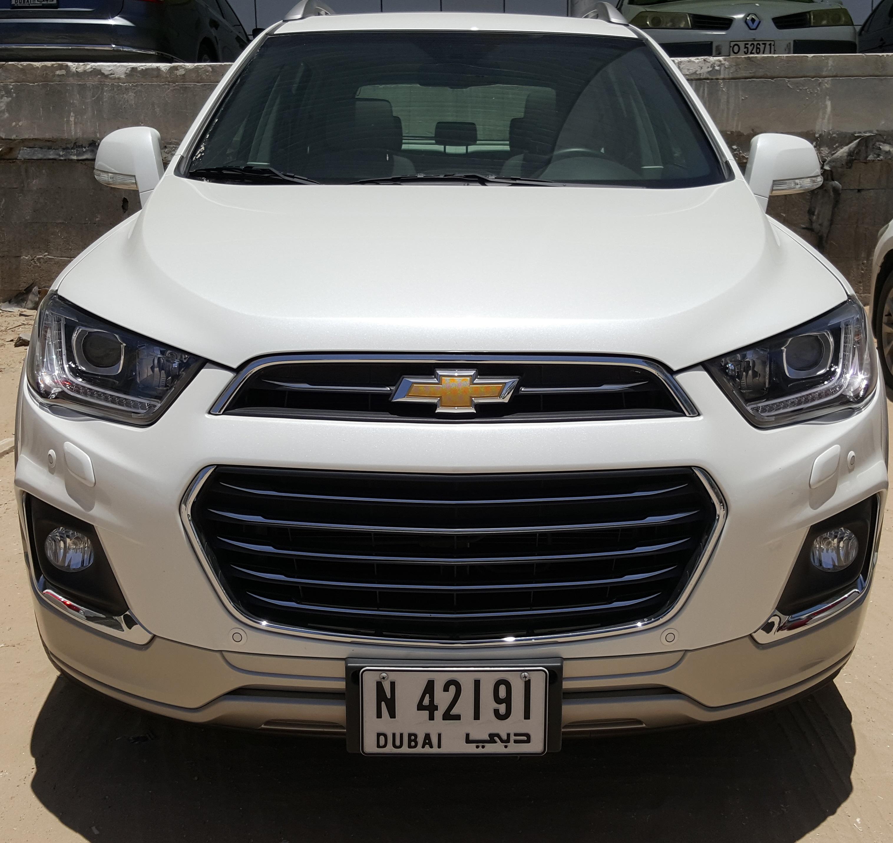 Chevrolet Captiva 2016 Review Uae Yallamotor