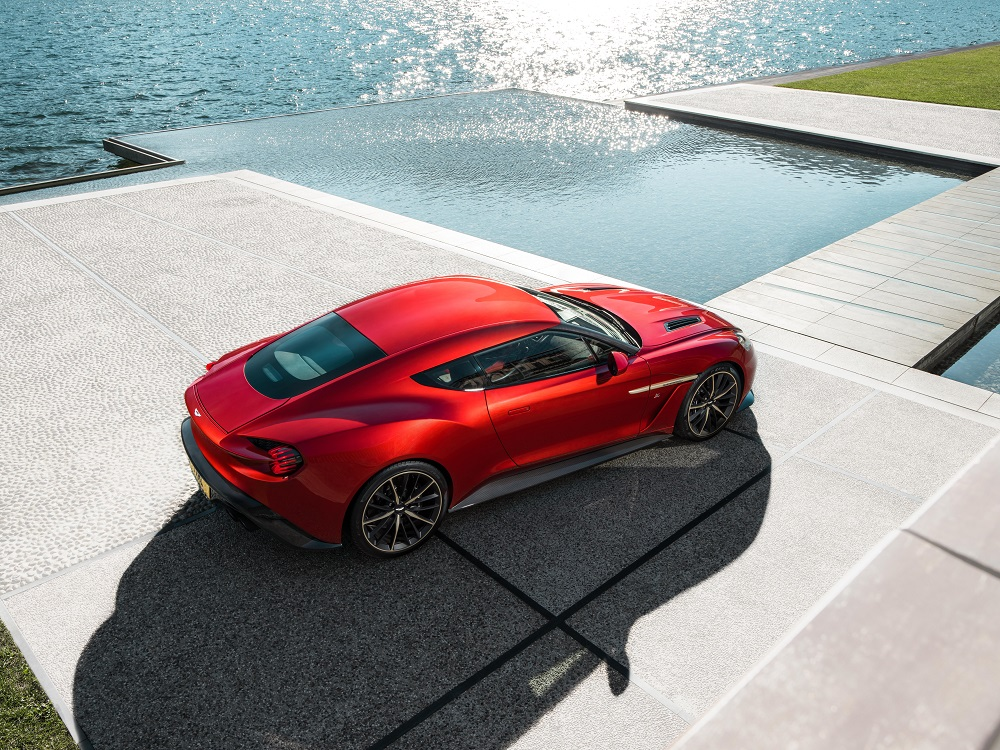 Aston martin Vanquish Zagato Top