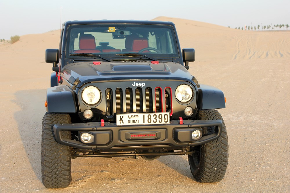 2016 Jeep Wrangler Level Red - Front