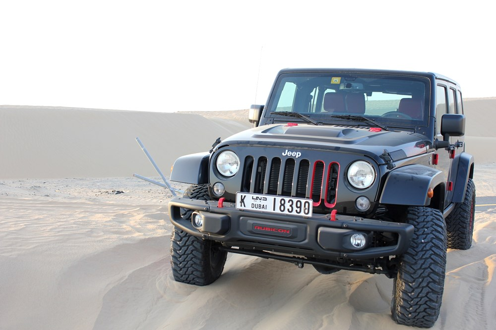 2016 Jeep Wrangler Level Red - Front 3