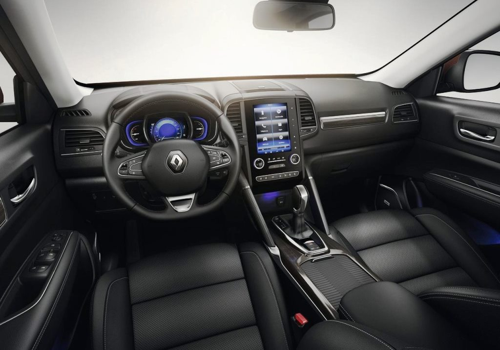 2017 Renault Koleos Interior
