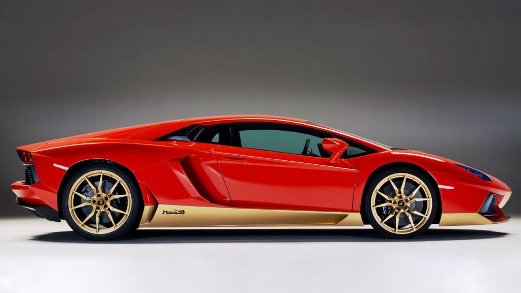 Lamborghini Aventador Miura - Side