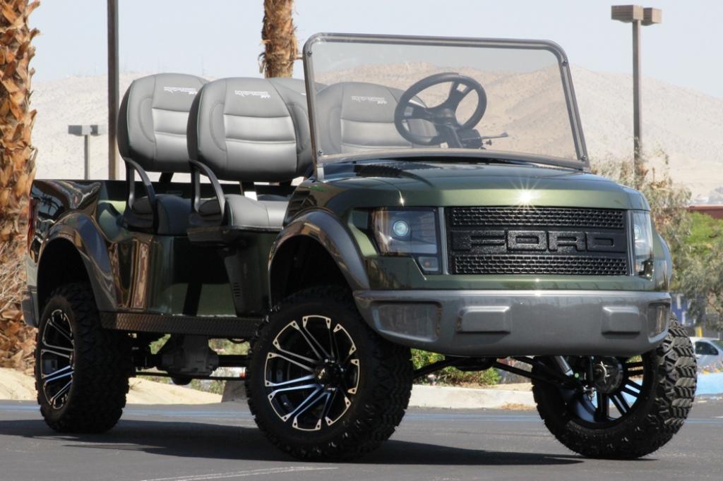 Ford F150 Raptor Golf Cart