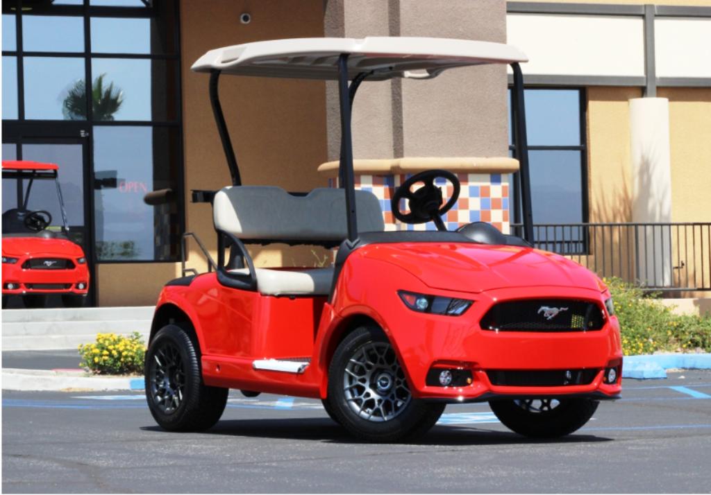 Ford Mustang Golf Cart - 2