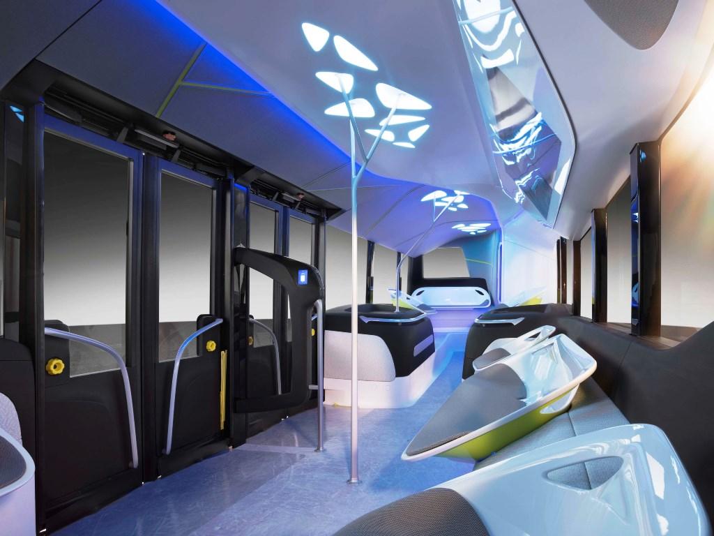 Mercedes-Benz Future Bus Interior