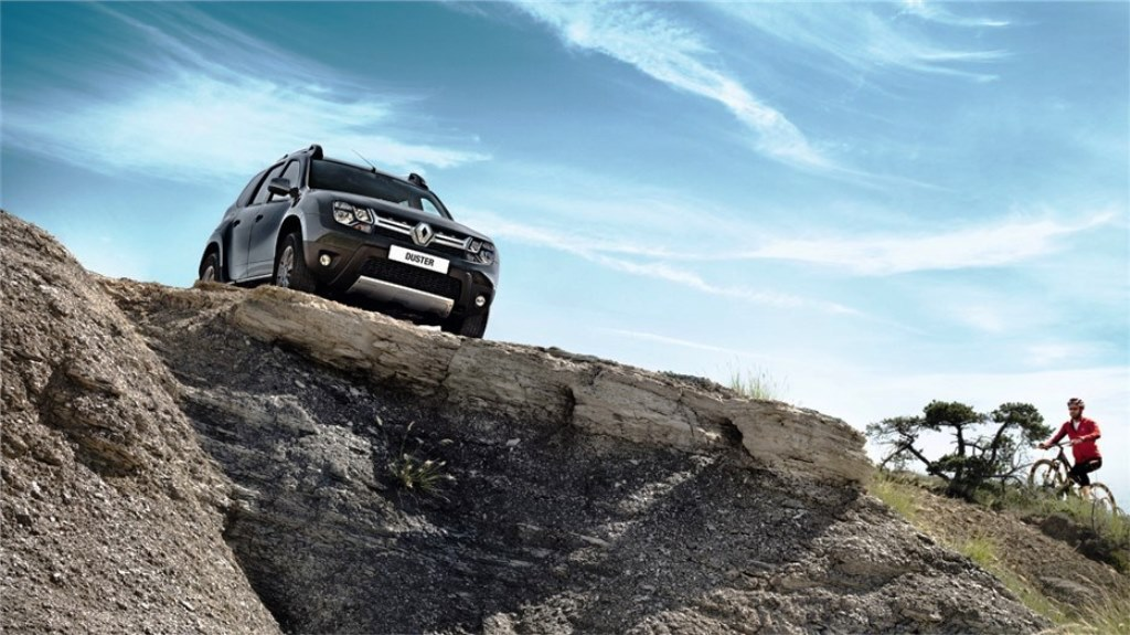 Renault Duster 2016 Front