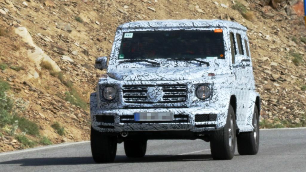 Mercedes-Benz G-Class Spied