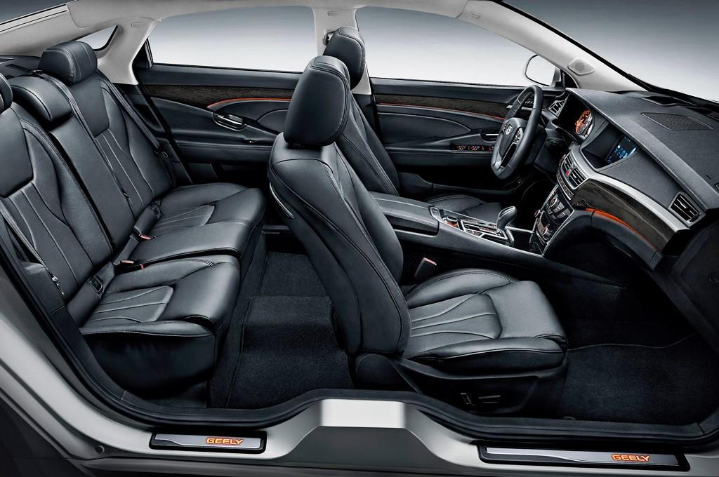 Geely Emgrand GT V6 - Interior