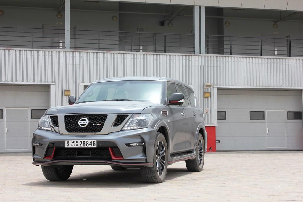 Nissan Patrol NISMO 2016 Front