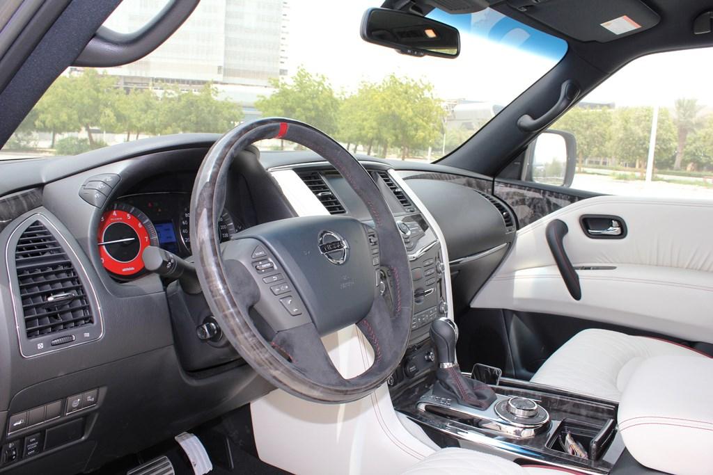 Nissan Patrol NISMO 2016 Interior