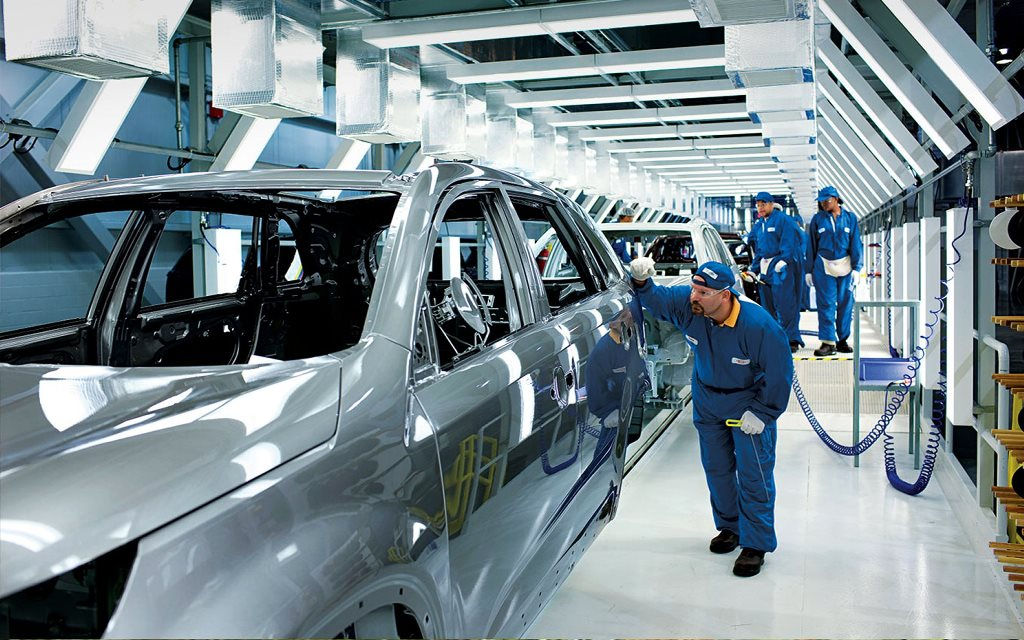 KIA Manufacturing Plant India