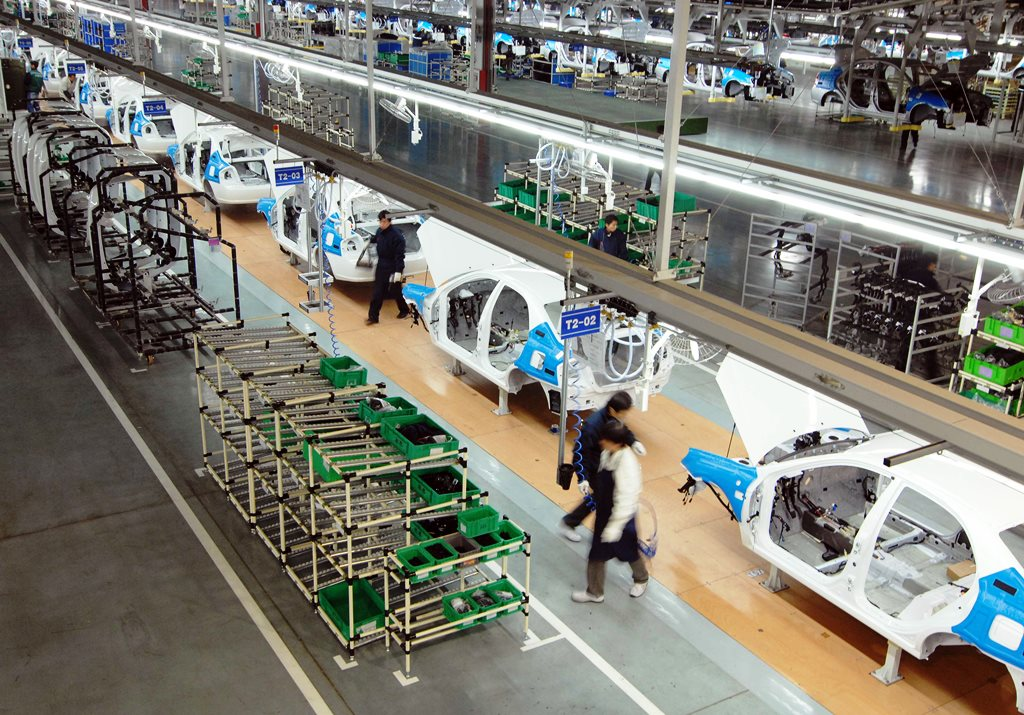 KIA Manufacturing Plant India - 3