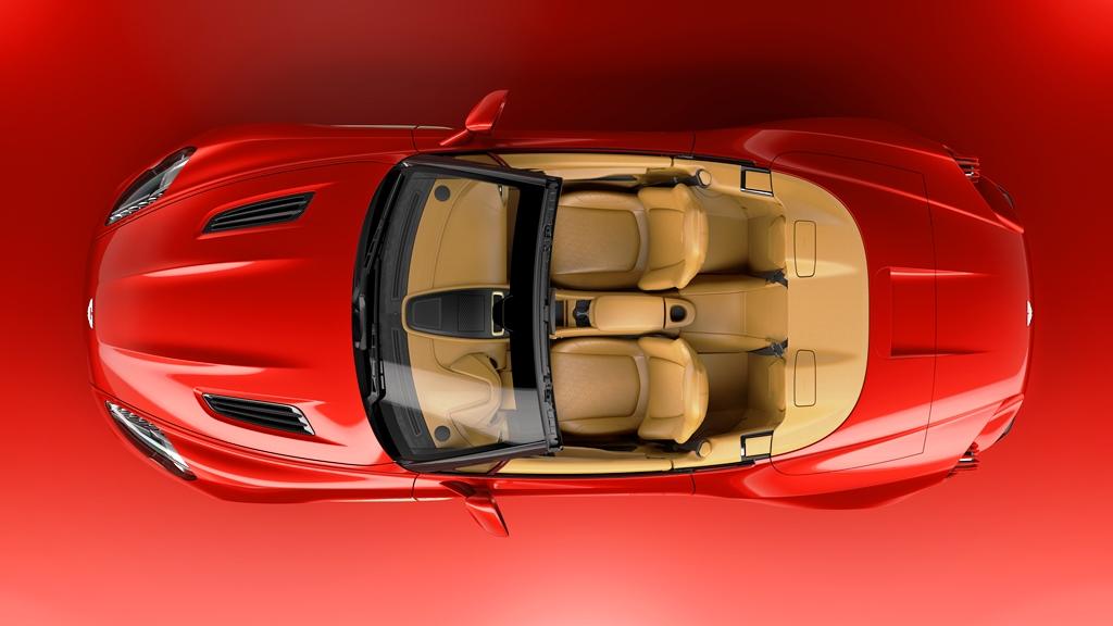 Aston Martin Vanquish Zagato Volante Top