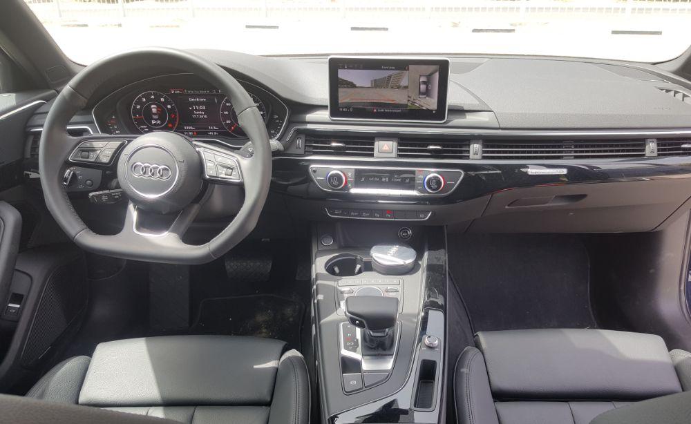 Audi A4 2017 Cabin