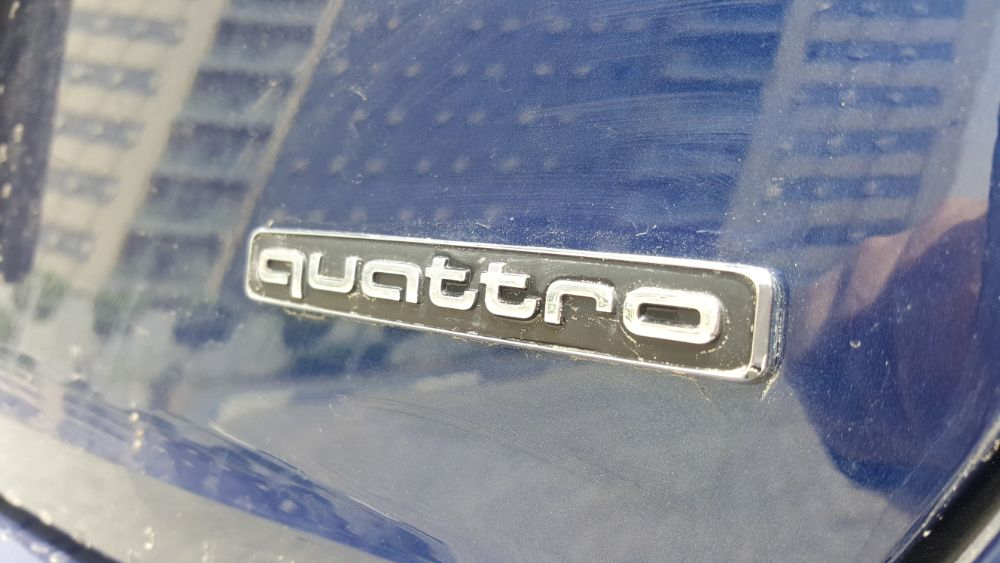 Audi A4 2017 Quattro
