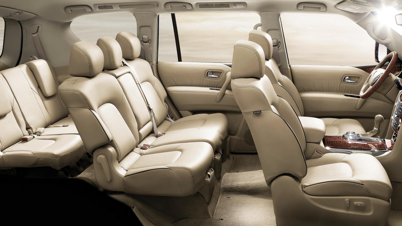 Nissan Patrol V6 Interior