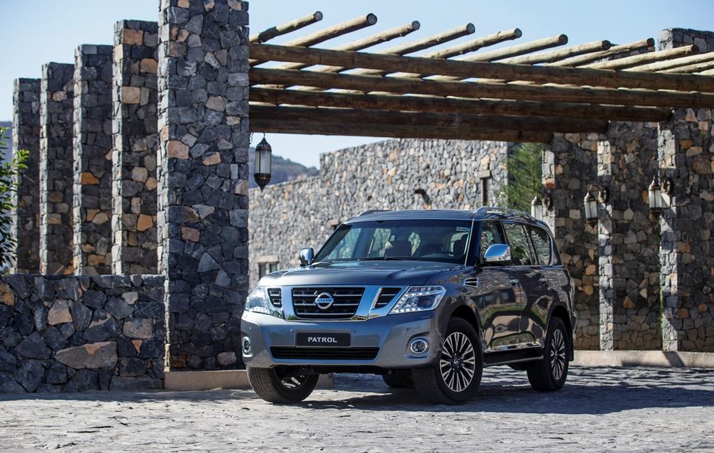 Nissan Patrol V6 2017 - Front