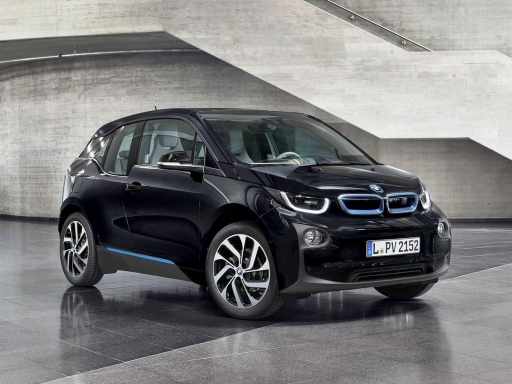 BMW i3 Paris Motor Show 2016