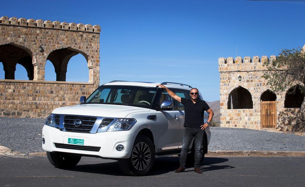Nissan Patrol V6 2017 - Front UAE