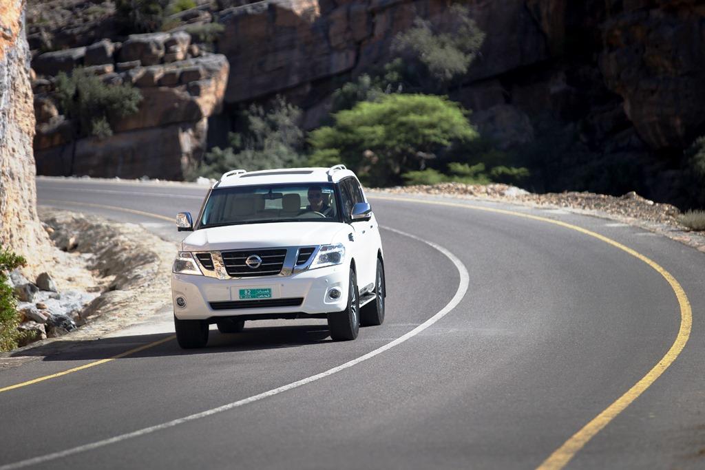 Nissan Patrol V6 2017 - Front 2