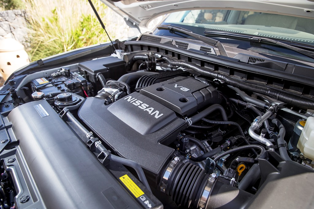 Nissan Patrol 2017 Engine