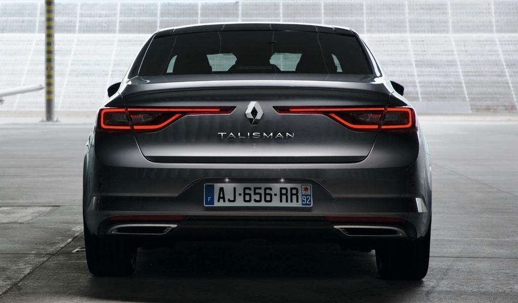 Renault Talisman 2017 Rear