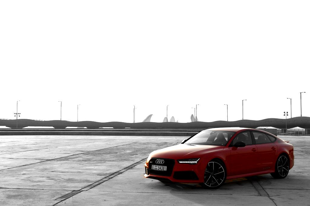 2017 Audi RS7 front