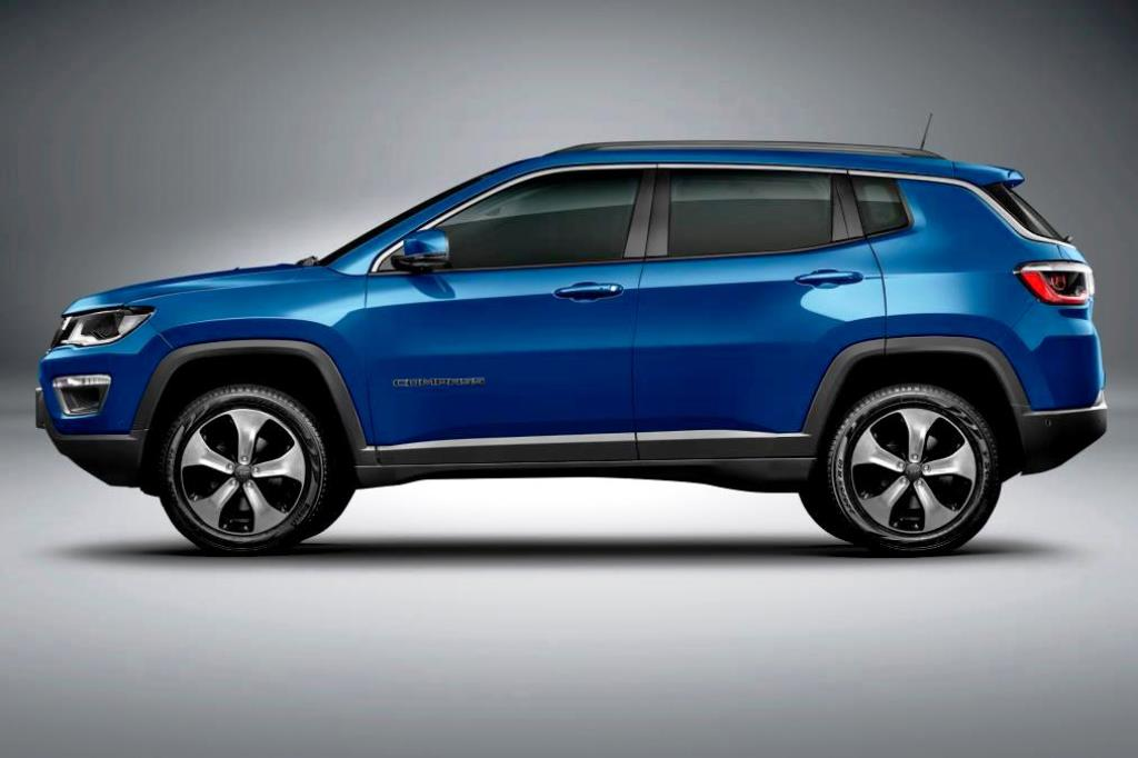 Jeep Compass 2017 Side