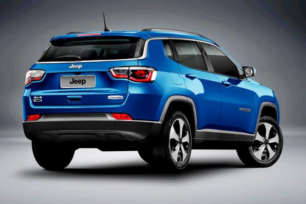 Jeep Compass 2017 Rear