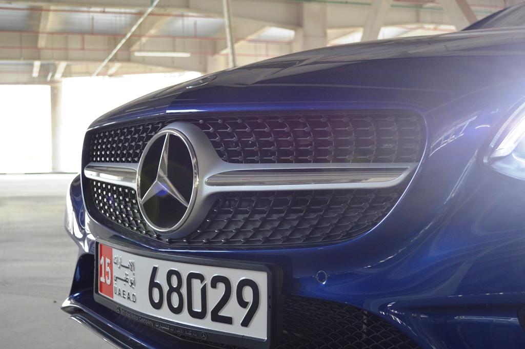 Mercedes Benz SLC300 2017 Front - 2