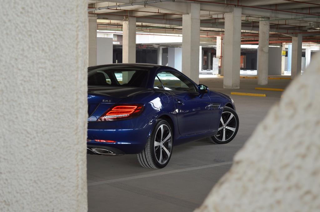 Mercedes SLC300 Rear