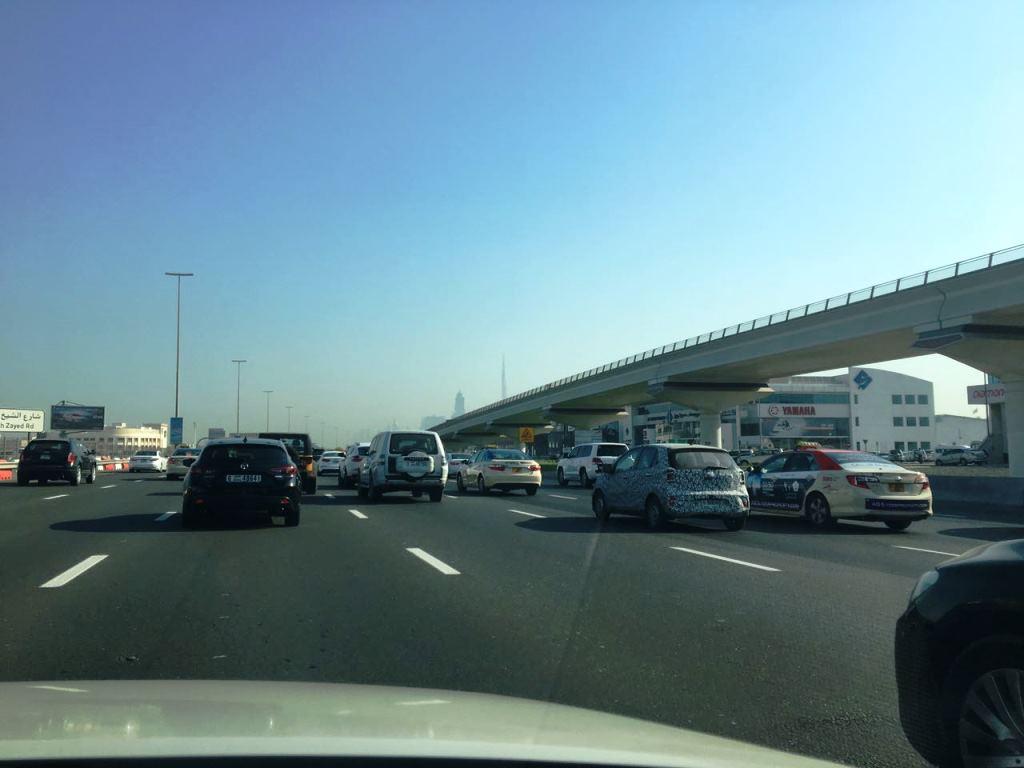 Kia Picanto 2017 Spy Shots Dubai