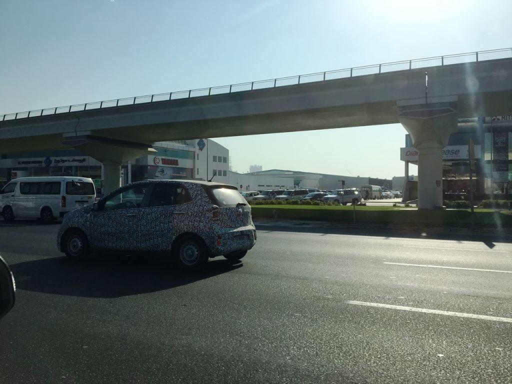 Kia Picanto 2017 Dubai Spy Shots
