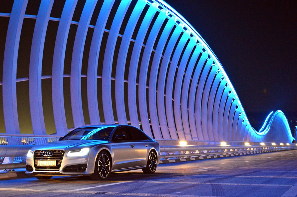 2016 Audi S8 Front - 2