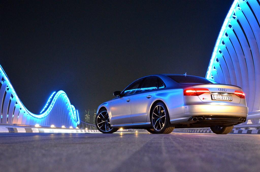 2016 Audi S8 Rear