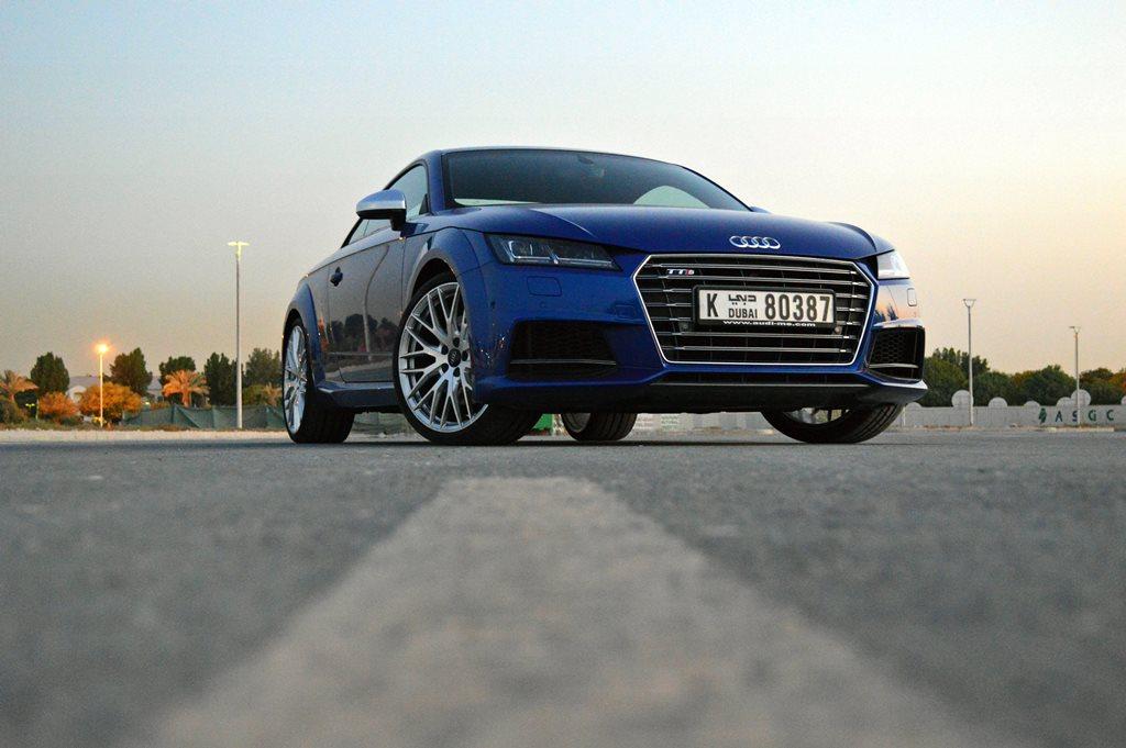 2016 Audi TTS Front