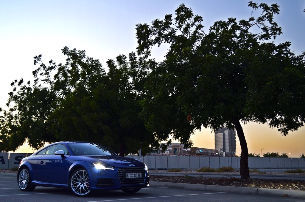 2016 Audi TTS Front - 2