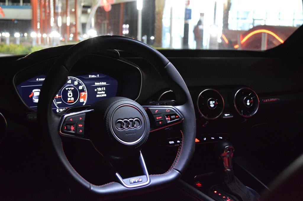 2016 Audi TTS Interior