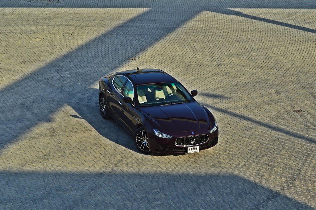 2016 Maserati Ghibli Top