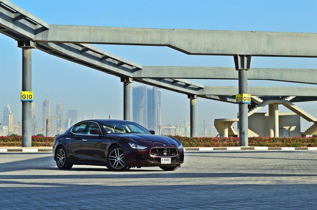 2016 Maserati Ghibli Front