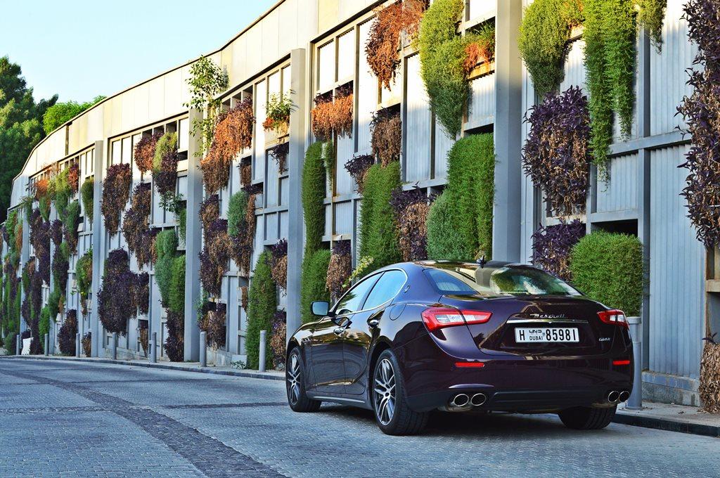 2016 Maserati Ghibli Rear