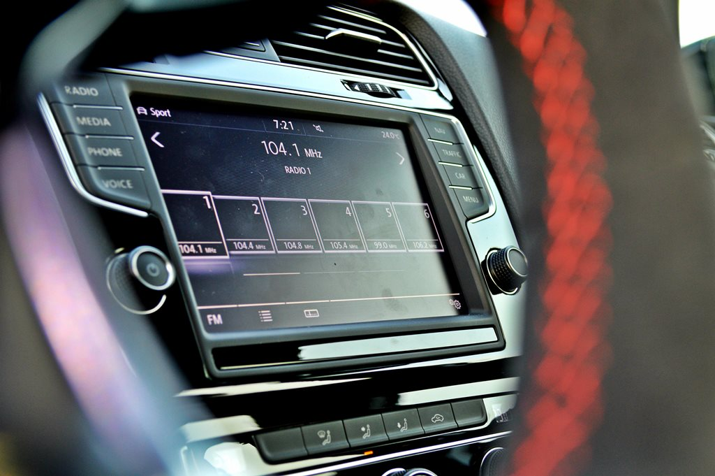 2016 Volkswagen GTI Clubsport Interior