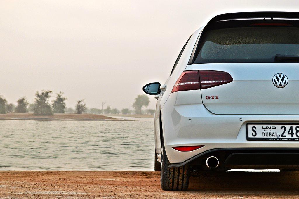 2016 Volkswagen GTI Clubsport Rear