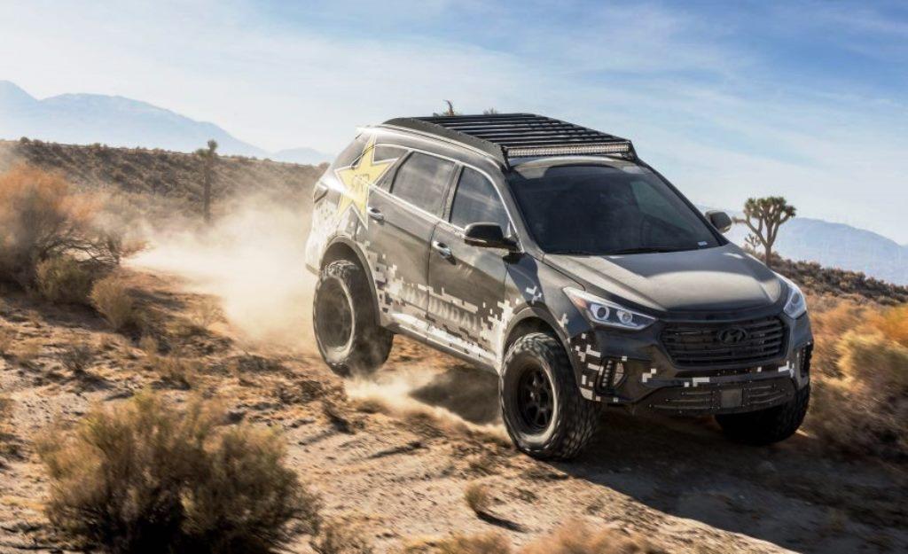 Hyundai Santa Fe SEMA 2016 Rockstar