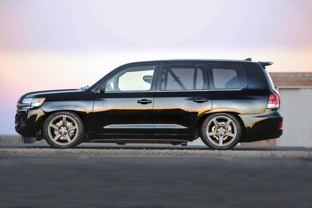 Toyota Land Speed Cruiser Side