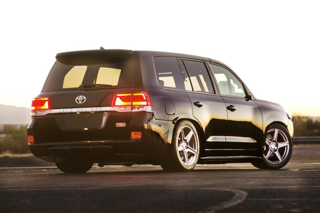 Toyota Land Speed Cruiser Rear